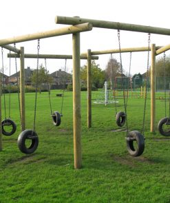 hexagonal tyre swing