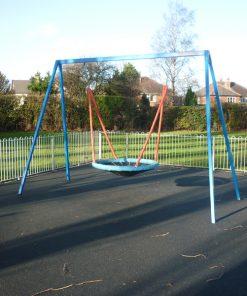steel basket swing