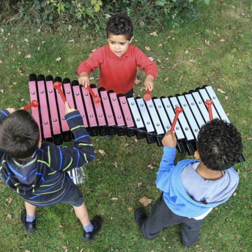 Duo playground music