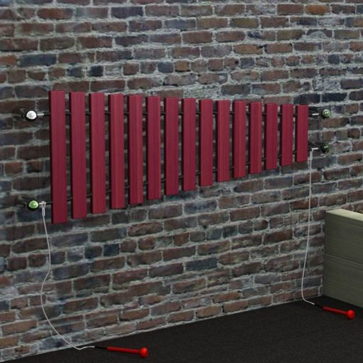 wall mounted marimba